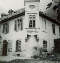 old picture of Hotel Wessobrunn